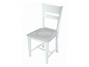 стол ТОМИ тапициран бял