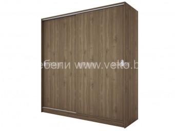 двукрилен гардероб СИТИ 1009 с плъзгащи врати