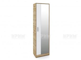 еднокрилен гардероб Сити 4043 - с огледало