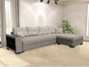 Ъглов диван ЛЕОН №15 с Покет пружини