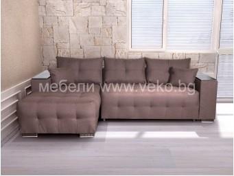 Ъглов диван ЛЕОН-М №16