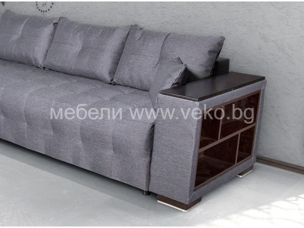 Ъглов диван ЛЕОН-М №68