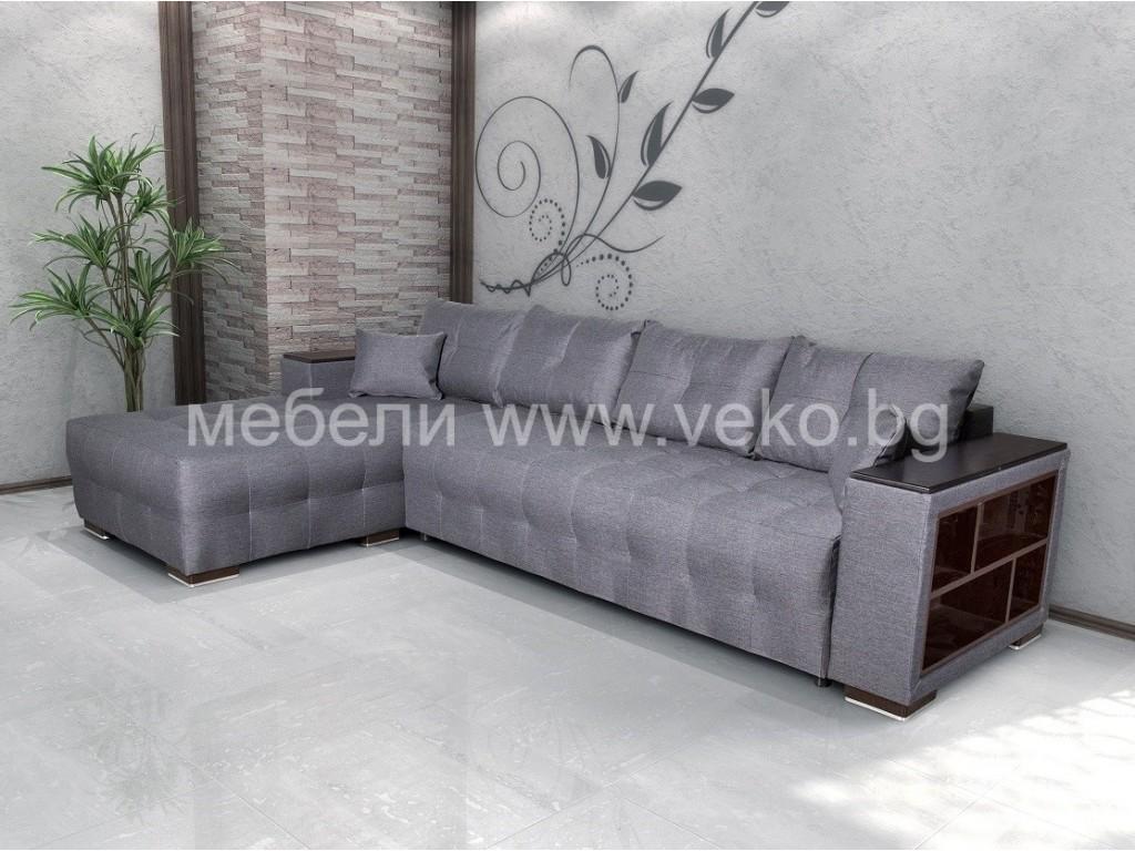 Ъглов диван ЛЕОН №68