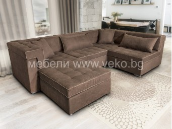 П-образен диван ЗУМ