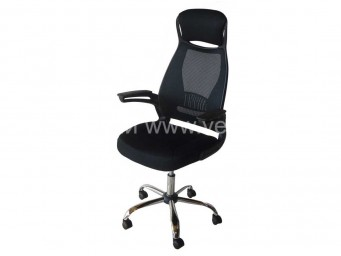 Офис стол ФРАНК с черен гръб