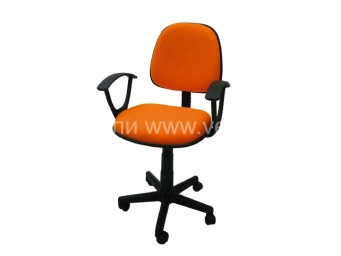 Офис стол МАЛАГА оранжев