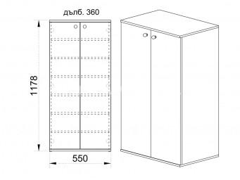 шкаф за обувки СИТИ 4040