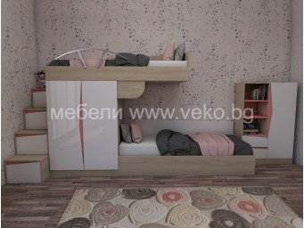 Комплект за детска стая Марти - Конфигурация 7