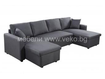 П-образен диван ГОЛФ-П №24