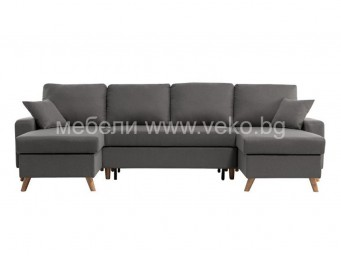 П-образен диван ГОЛФ-П ДЕКО №90