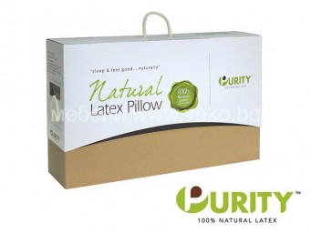 Възглавница PURITY 100% Natural Latex Анатомична