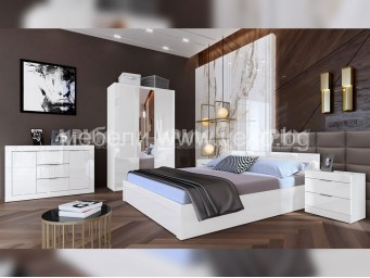 спален комплект СИТИ 7046 + 1026