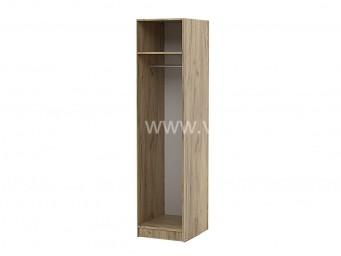 Еднокрилен гардероб Топ 1 с лост - Дъб крафт Златен 40 см.