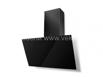 FABER TWEET EV8 LED BK A80 Черно стъкло/Черен комин