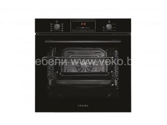 фурна за вграждане Eurolux EO4 F8PTG BK Черно стъкло