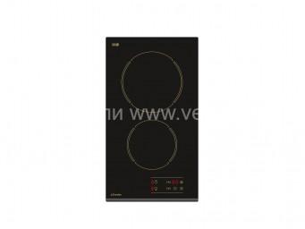 Стъклокерамичен плот Eurolux ECH2 TC2 FV R Черен
