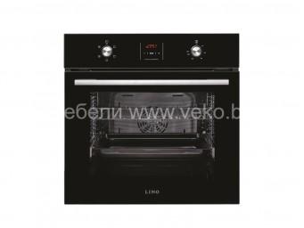 фурна за вграждане LINO FL3 F5PTG BK Черно стъкло