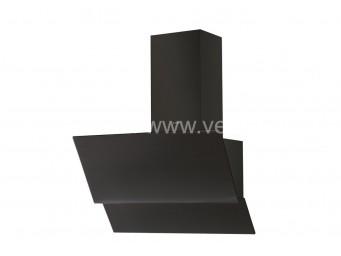 LINO SPARK 60 BK / 60cm Черно стъкло/Черен комин