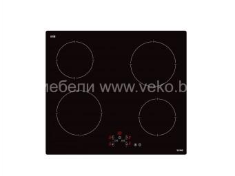 Стъклокерамичен плот LINO PL3 TCT4 V Черно стъкло