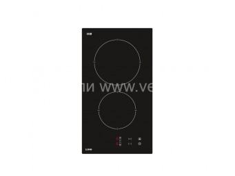 Стъклокерамичен плот LINO PL2 TC2 V Черно стъкло