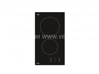 Стъклокерамичен плот LINO PL3 TCТ2 V Черно стъкло