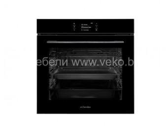 фурна за вграждане Eurolux EO8 F10TCTG BK Черно стъкло