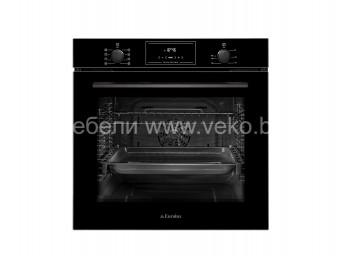 фурна за вграждане Eurolux EO5 F8PTG BK Черно стъкло