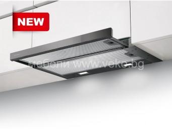 FABER FLEXA NG GLASS LUX BK A60 Черен стъклен панел/Черно