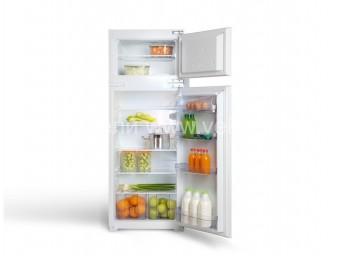 Хладилник с фризер за вграждане LINO HVL 26 V Бял