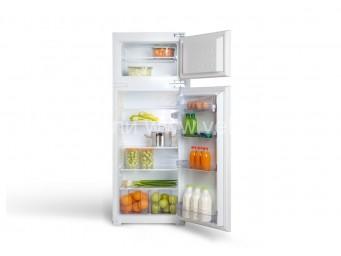 Хладилник с фризер за вграждане Eurolux RBE 2214 V Бял