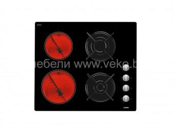 Стъклокерамичен плот LINO PVL MC2E2G V/ток + газ