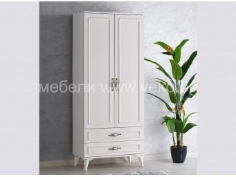 Двукрилен гардероб ИРМАК 4040