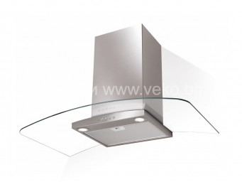 FABER RAY EV8 LED X/V A90 Инокс/Стъкло