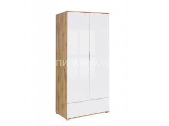 Двукрилен гардероб ЗЕЛЕ SZF2D1S