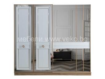 Гардероб МИЛАНО с плъзгащи врати