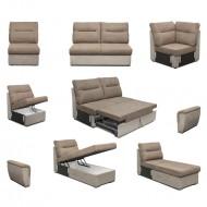 Модулни системи мека мебел