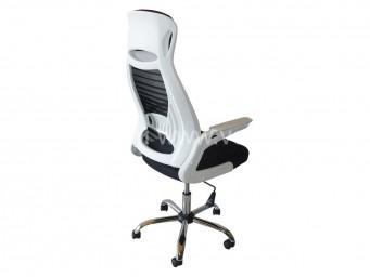 Офис стол ФРАНК с бял гръб