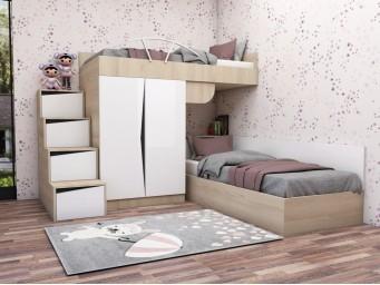 Комплект за детска стая Марти - Конфигурация 8